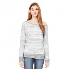 Bella + Canvas Women's Sponge Fleece Wide-Neck Sweatshirt (BC37501)